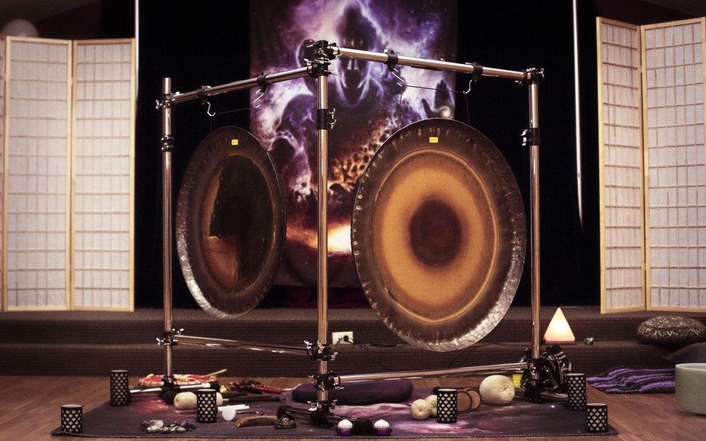 Saturn and Sun Gongs | Vinyasa Productions | Sound Healing Gong Bath Meditations | Denver Colorado