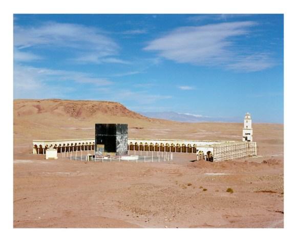 Fayçal Baghriche, Mecca, 2011 Photographie, 110 x 135 cm Copyright et courtesy de l'artiste Courtesy Galerie Campagne première, Berlin.