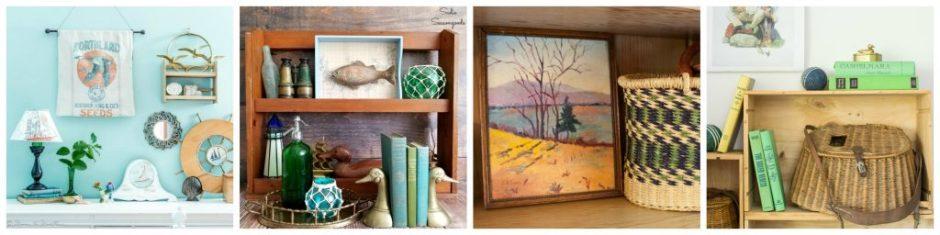 Thrift the look - Vintage Lake House - Creative Vintage Darlings