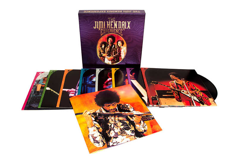 THE JIMI HENDRIX EXPERIENCE 8LP Box Set Out Now