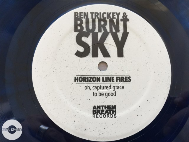 Ben Trickey & Burnt Sky - Horizon Line Fires (label)