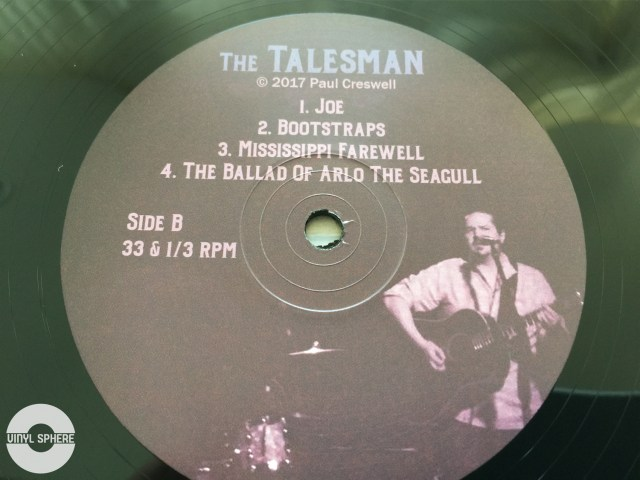 Paul Creswell - The Talesman (B Side label)