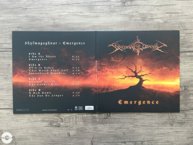 Shylmagoghnar - Emergence (gatefold - outside)
