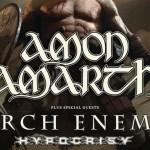 [Live Report] – 25/11 – AMON AMARTH + ARCH ENEMY + HYPOCRISY au Zénith - par Jérôme.