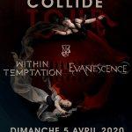 Within Temptation & Evanescence. Concert à Paris le 05 Avril 2020.