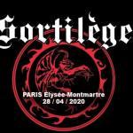 Sortilège + Manigance en concert à Paris. 28 Avril 2020.