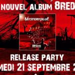 Mystery Blue - Release Party ce samedi à Strasbourg.