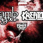 Lamb of God et Kreator - Paris - 17/04/20