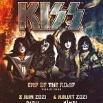 Kiss report des dates Françaises en 2021.