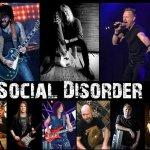 SOCIAL DISORDER - super groupe avec des membres de LA Guns, Rainbow, Ozzy Osbourne, Armored Saint, King Diamond And More