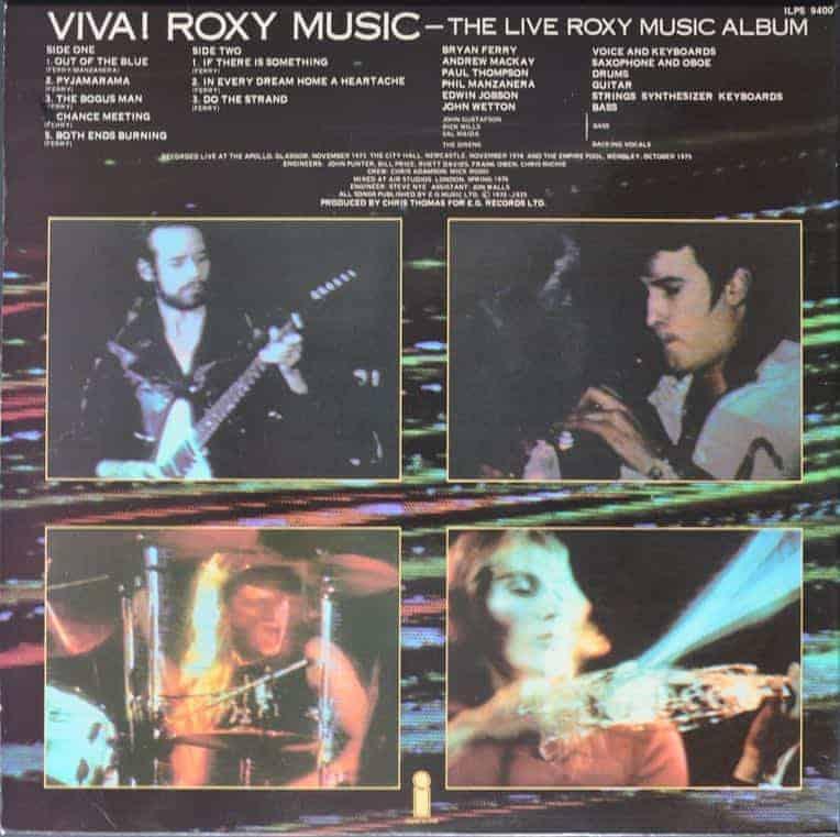 Roxy Music  U200e U2013 Viva  Roxy Music