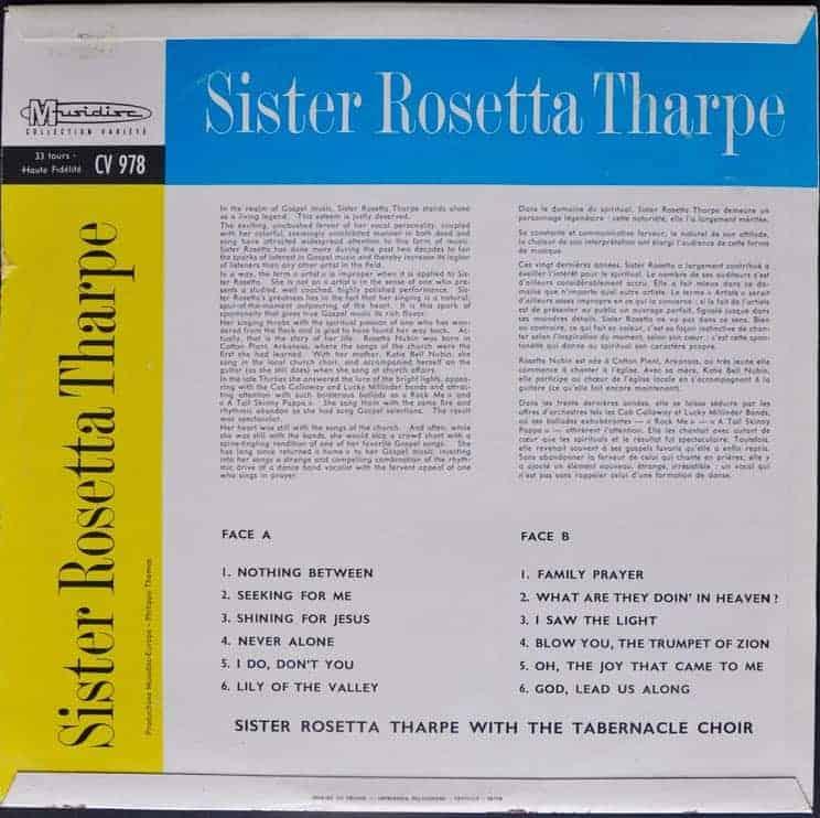 Sister Rosetta Tharpe – Sister Rosetta Tharpe