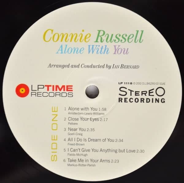 Connie Russel Alone With You