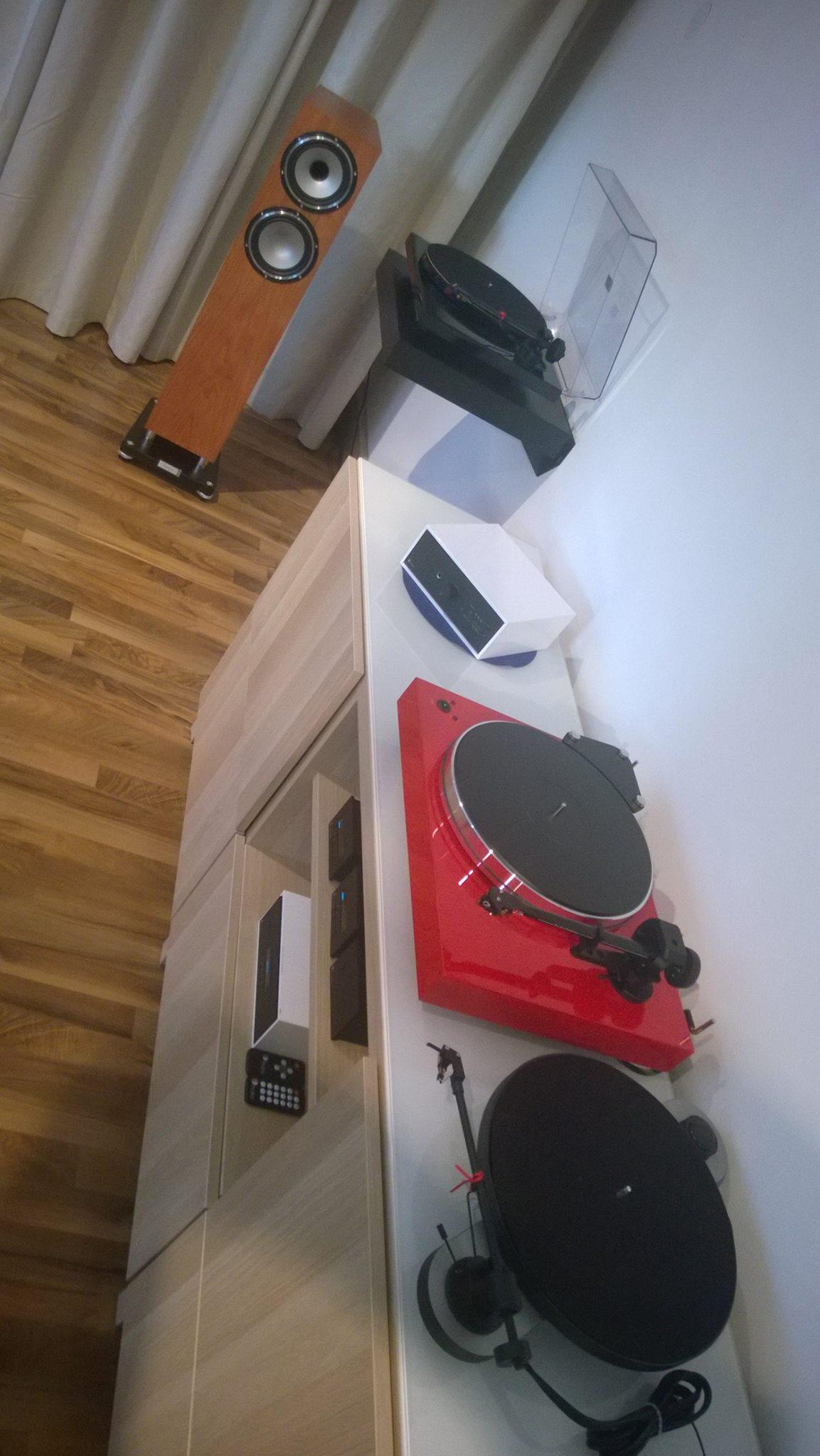 Die Geräte zur Musik