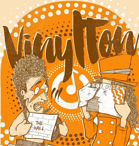 VinylTon – Poster by Aplacefortom