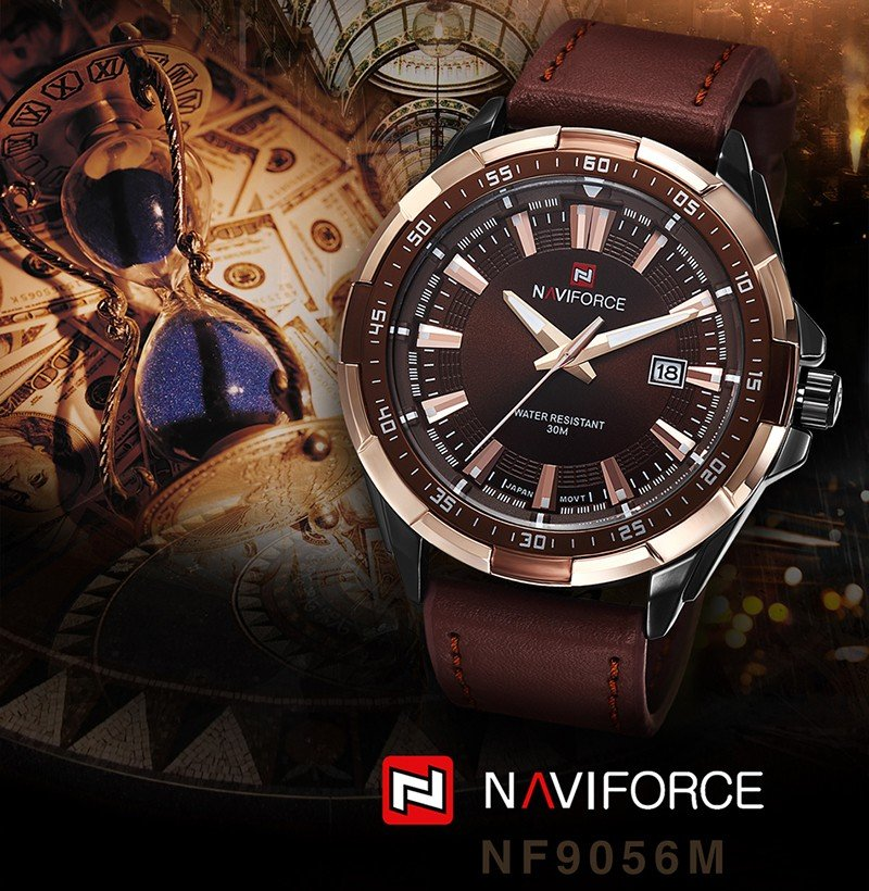 NAVIFORCE Bossman Men watch viogle
