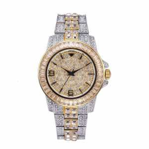 Miss Fox Goldie Luxury Women Men watch Quartz
