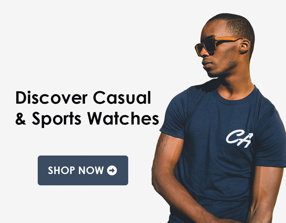 mens casual sports watch