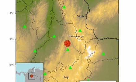 Movimiento telúrico que se registró en Zapatoca (Santander) también se sintió en Yopal.