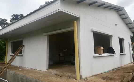 Equión apoya la construcción de Inspección de Policía en Vijagual.