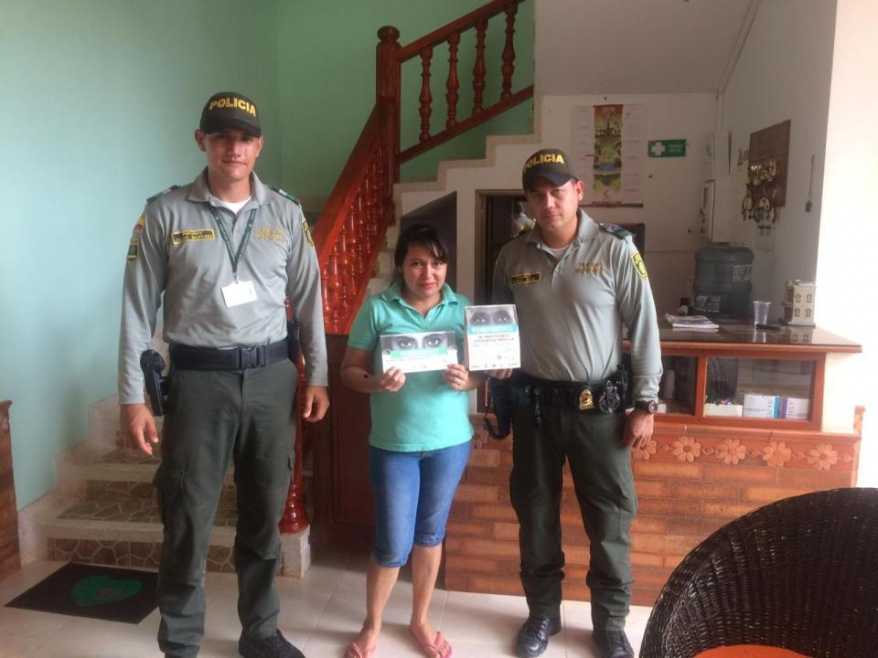 Campañas de prevención en el tema ESCNNA y control  al registro nacional de turismo en el municipio de Orocué