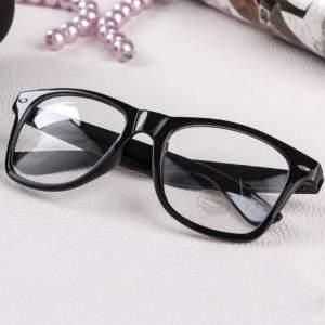 dioptria nélküli kocka sztk keretes divat szemüveg
