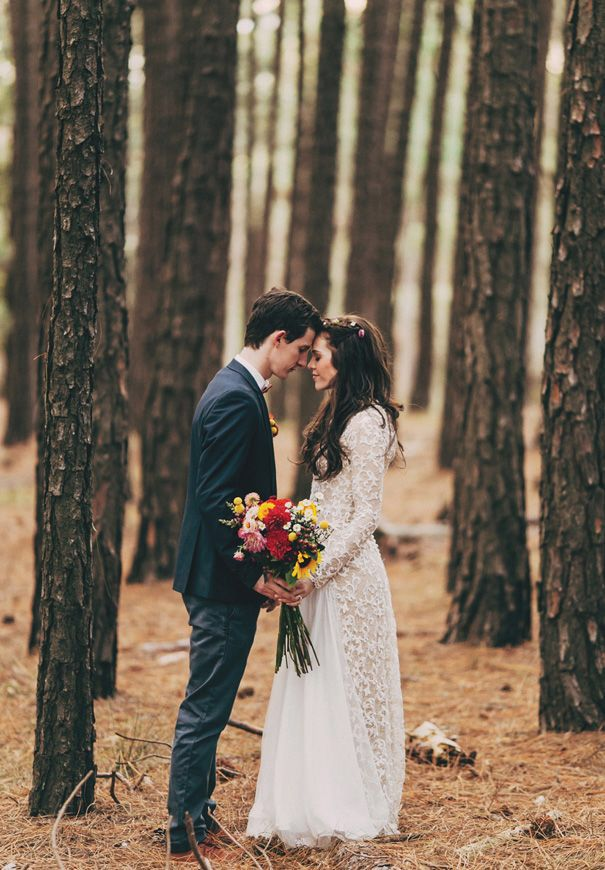 Weddings: Stylish Couples 7