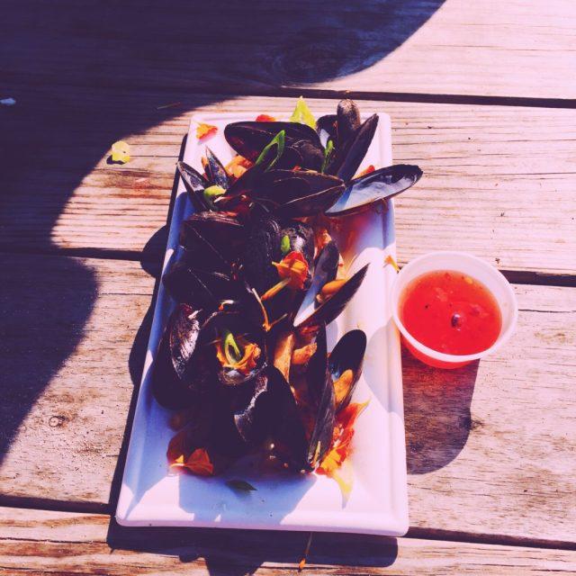 Riis Park Beach Bazaar food