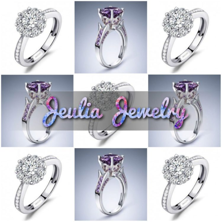 Weddings: Jeulia Jewelry Engagement Rings - click through for more!