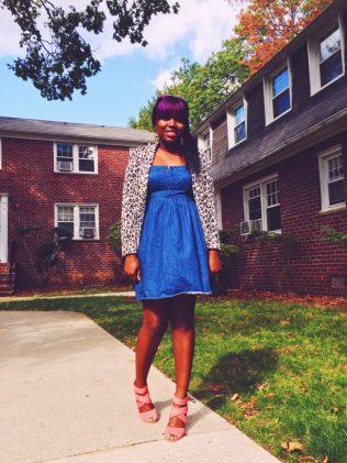 Thrift Store Scores: The Denim Dress 1