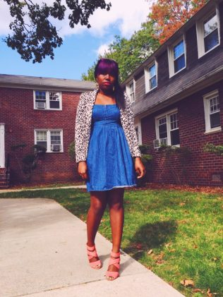 Thrift Store Scores: The Denim Dress - click through for more!