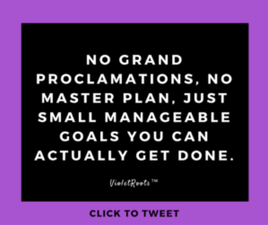 Why It's Fine to NOT Focus on Your New Year Goals Right Now - Don't force forward momentum for the sake of it. It's fine to not focus on your new year goals at the start of the year. Work at the pace that suits you.