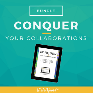 Conquer Your Collaborations (Bundle) - The Conquer Your Collaborations Bundle is a key resource for content creators who want to build relationships, connect and grow their online presence.