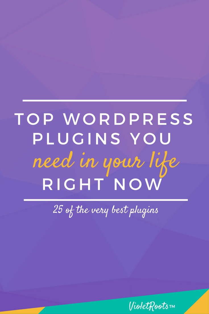 Top WordPress Plugins You Need in Your Life - Want to upgrade your WordPress site? Outfit your blog with the top WordPress plugins you need in your life ASAP! Tackle 404 pages, SEO, backups and more!