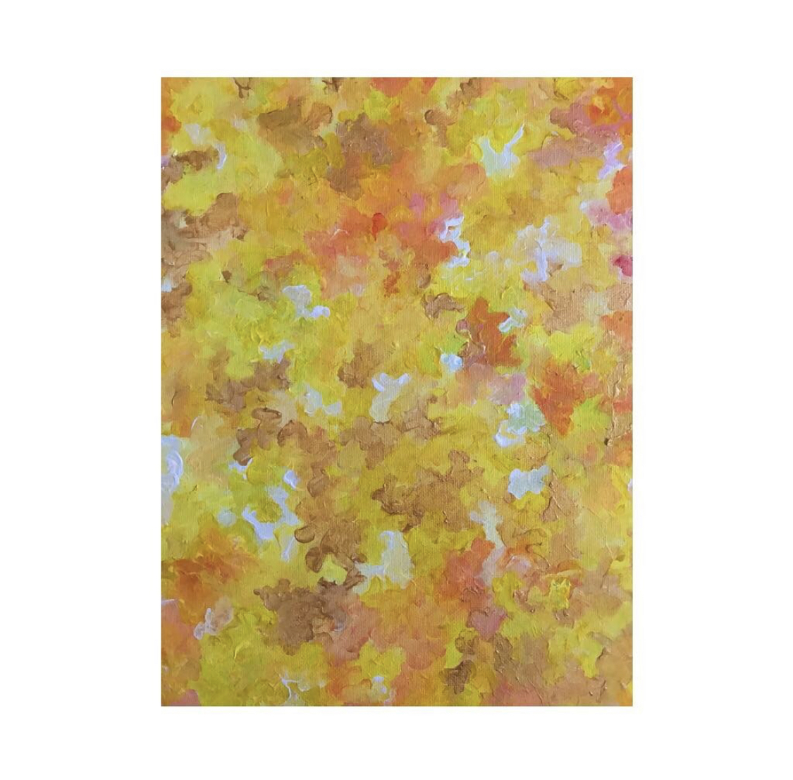 Purchase - Violet Roots - Abstract Painting - Ultralife