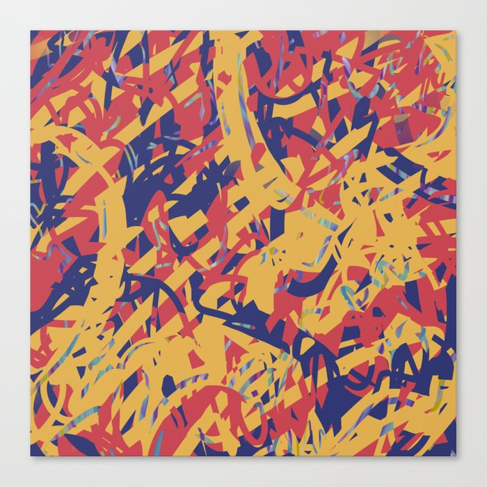 Portfolio - Violet Roots - Abstract Painting - Kick It