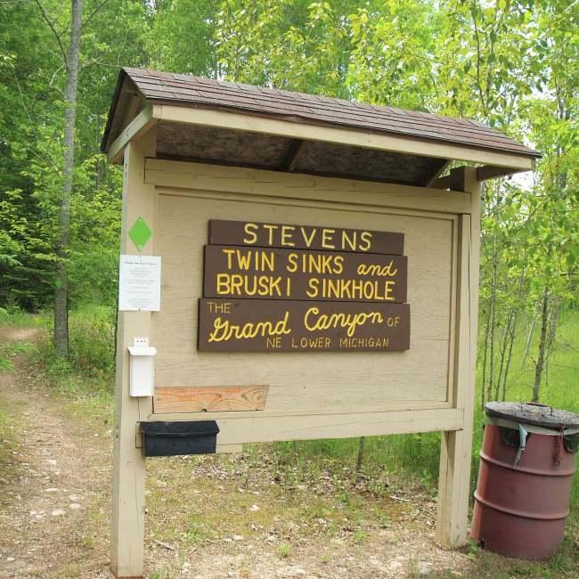 Stevens Twins and Bruski Sinks, Posen, Michigan