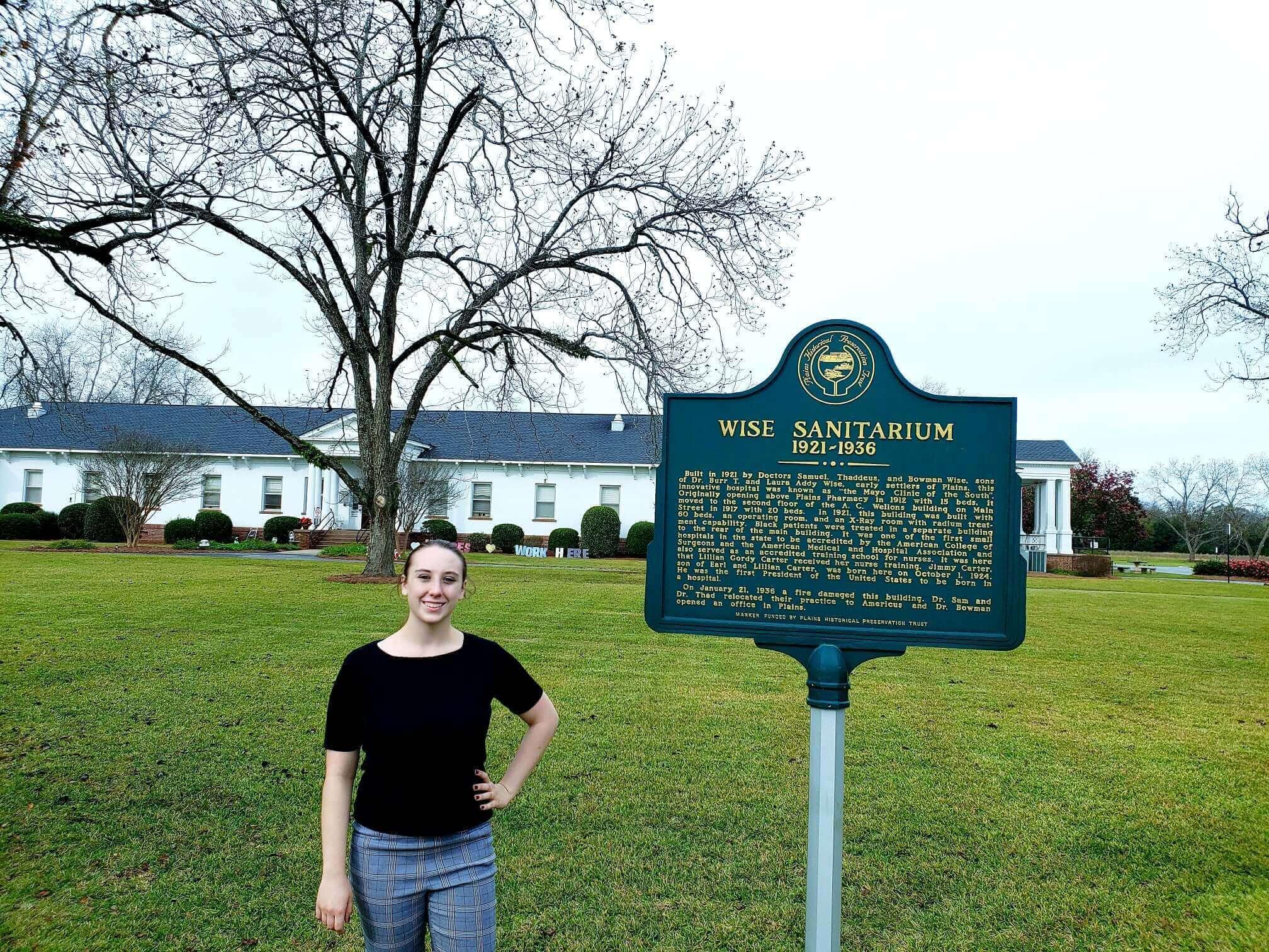 Wise Sanitarium, Plains, Georgia