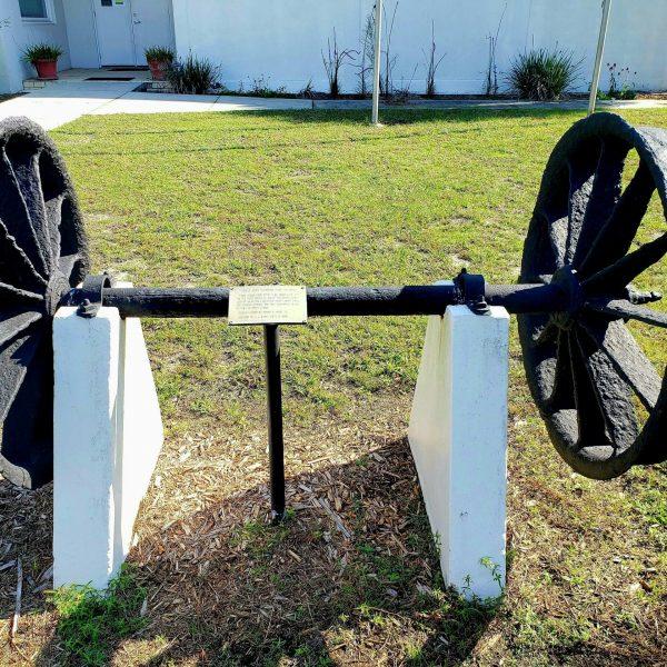 Wheels from St. Joe Lumber and Export Co., Port St. Joe, Florida