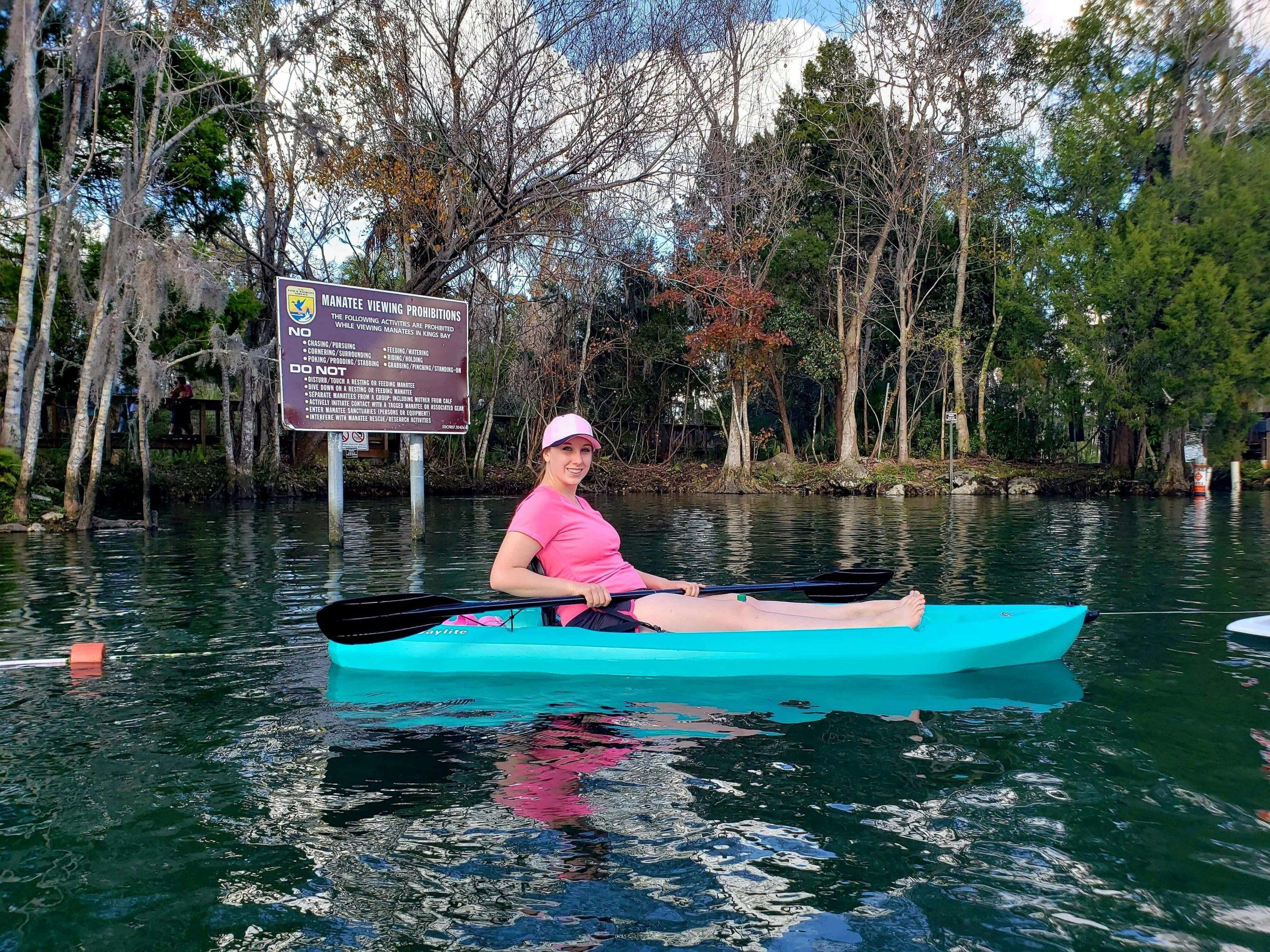 Violet Sky at Three Sisters Springs, Crystal River, Florida