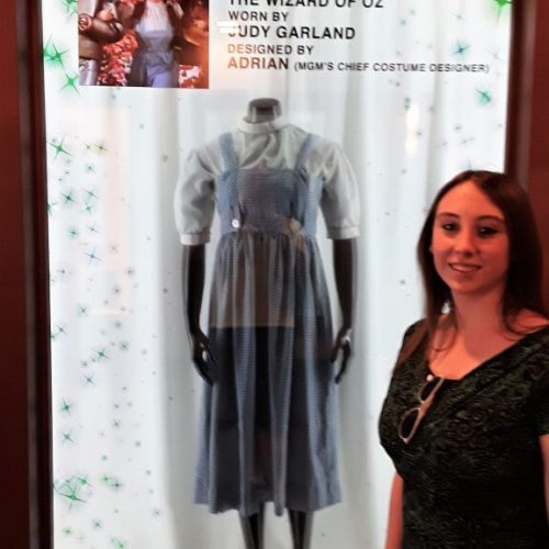 Violet Sky with Dorothy's Dress from The Wizard of Oz, Disney Springs, Lake Buena Vista, Florida