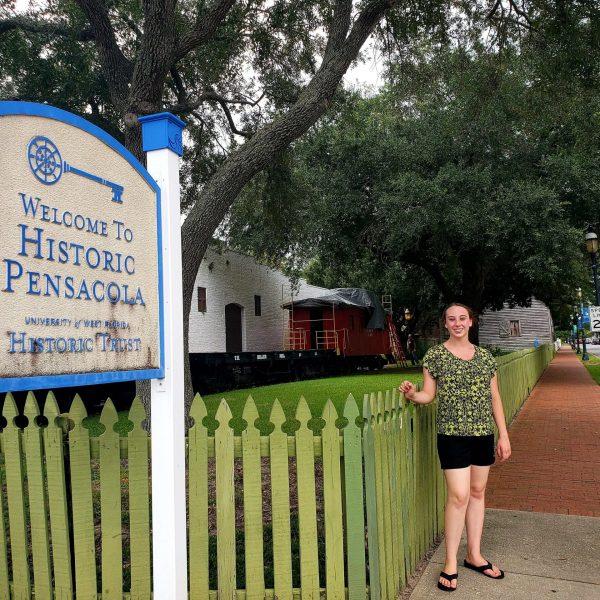 Violet Sky in Historic Pensacola, Florida