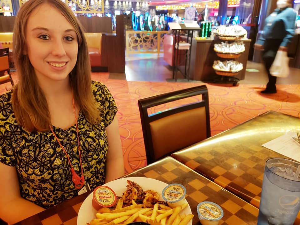 Violet Sky at Wind Creek Casino, Atmore, Alabama
