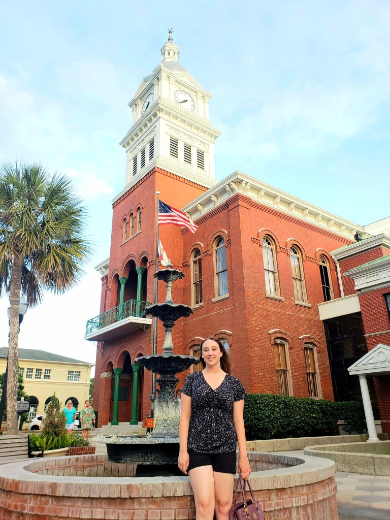 Violet Sky at the Nassau County Historic Courthouse, Fernandina Beach, Florida