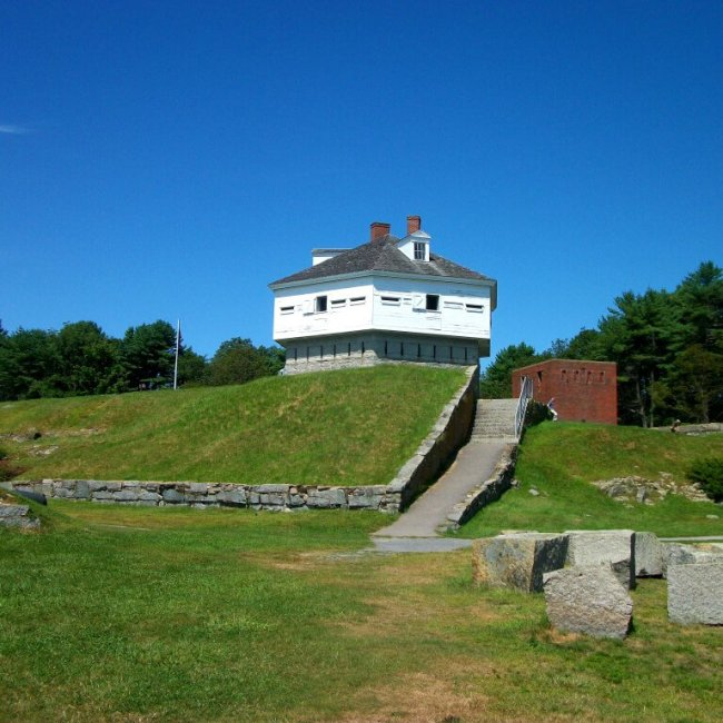 Fort McClary, Kittery Point, Maine