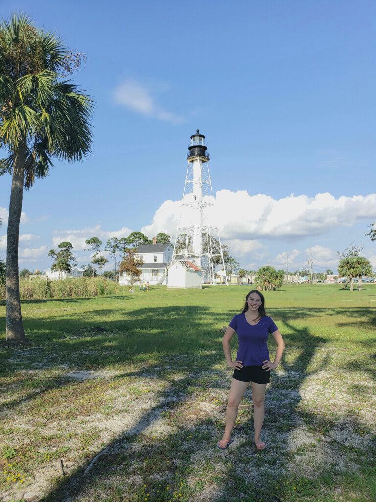 Violet Sky at the Cape San Blas Lighthouse, Port St. Joe, Florida