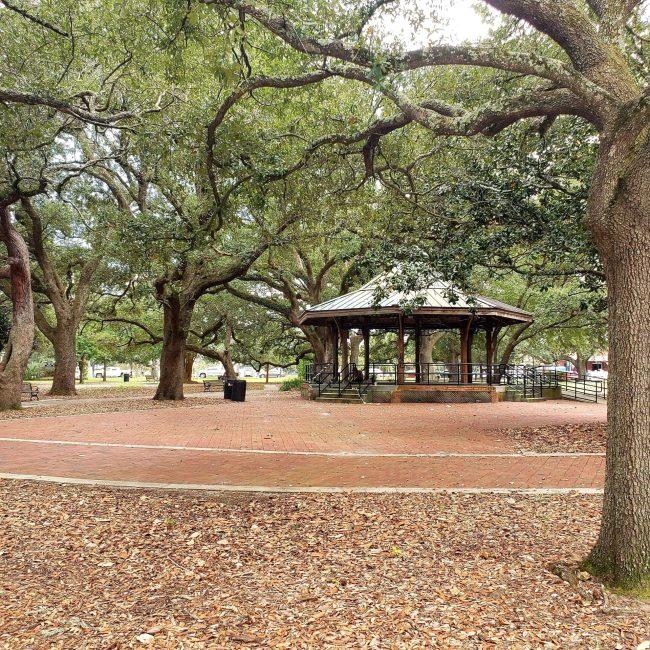 Gazebo at Seville Square, Pensacola, Florida