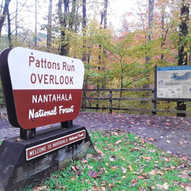 Pattons Run Overlook, Nantahala National Forest, North Carolina