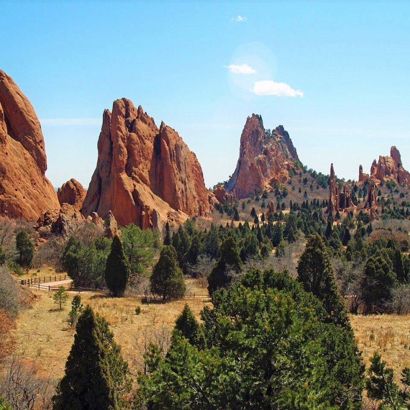 Garden of the Gods, Manitou Springs, Colorado (Photo Credit: Wikipedia)