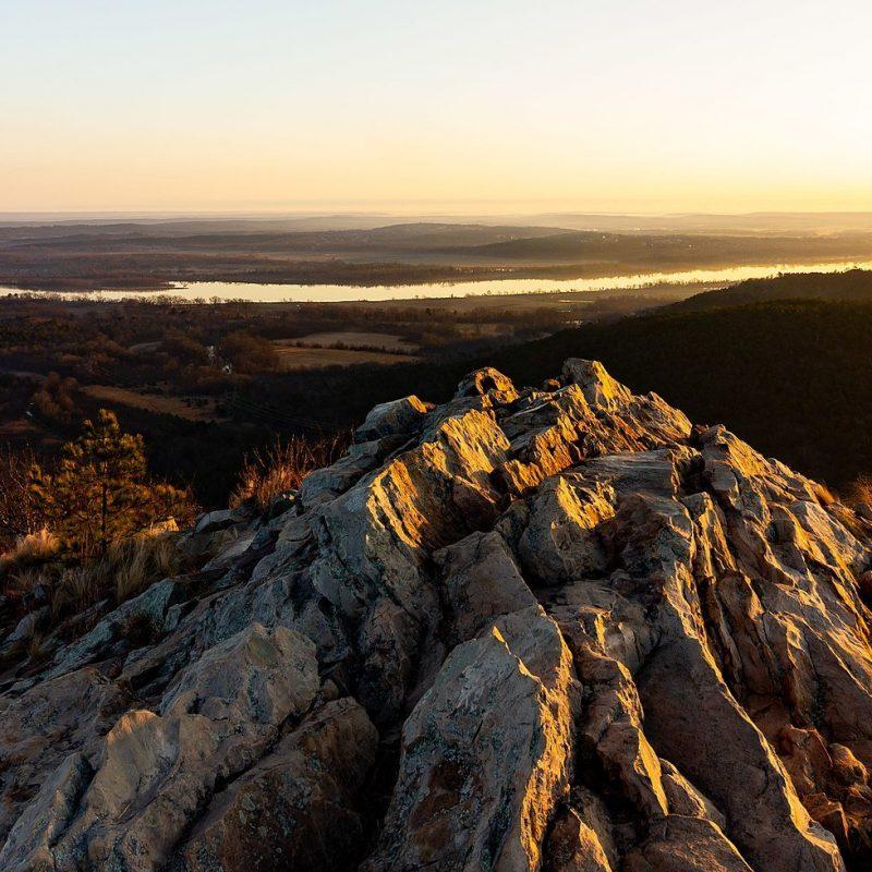 Pinnacle Mountain State Park, Pulaski County, Arkansas (Photo Credit: Wikipedia)